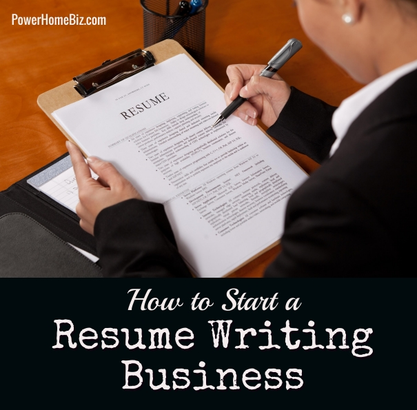 how to start a resume writing service business With starting a resume writing service