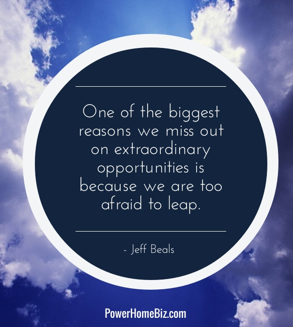 A quote and lesson for entrepreneurs: fight through fear