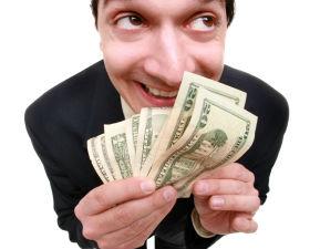 entrepreneur with business profits