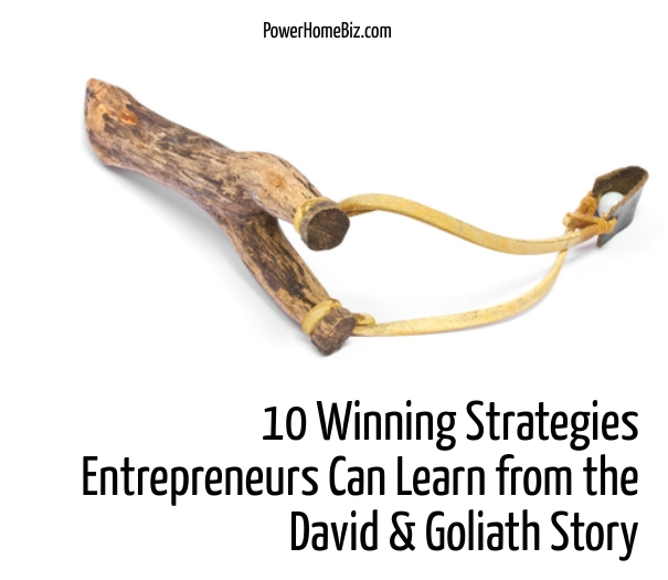 what entrepreneurs can learn from david and goliath