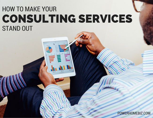 How to make your consulting services business stand out