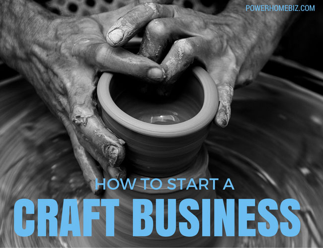 Starting a craft business from home