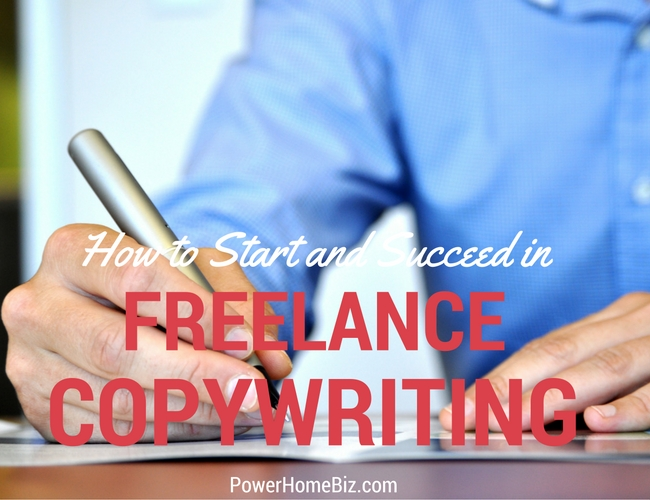 start a freelance copywriting business