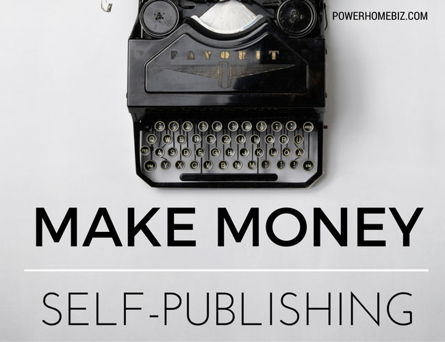 How to make money from self-publishing