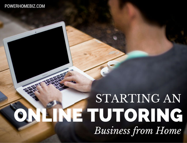Starting an Online Tutoring Business from Home
