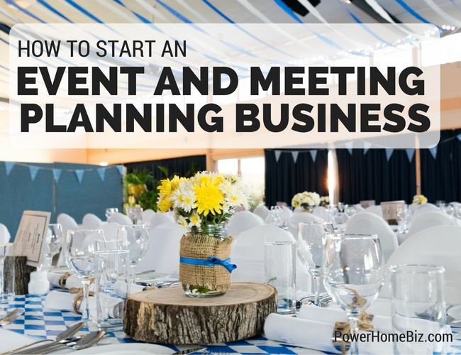event and meeting planning business