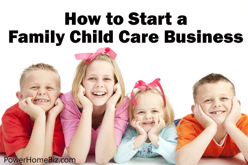 starting a family child care business