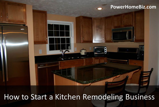 start kitchen remodeling business