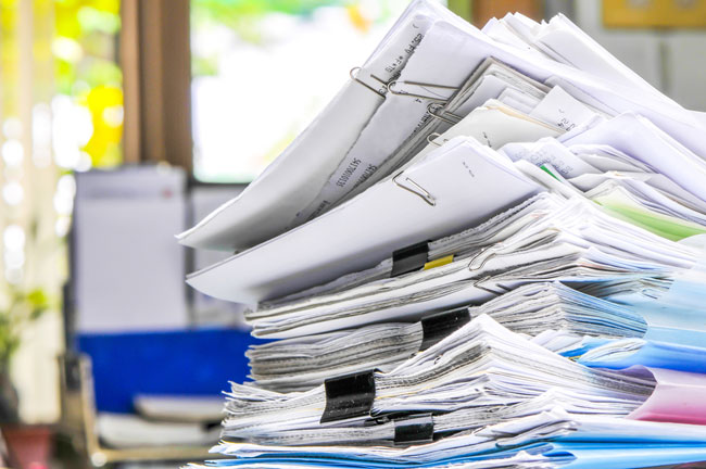 home office paperwork