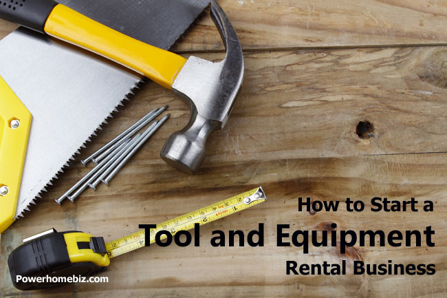 tool and equipment rental business