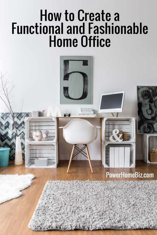 How to create a functional and fashionable home office for Functional home office