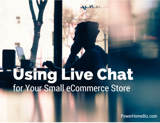 Using Live Chat for small business ecommerce store