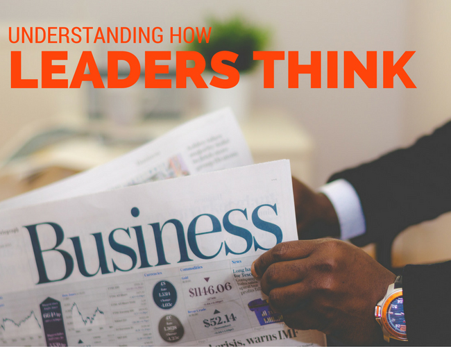 how leaders think