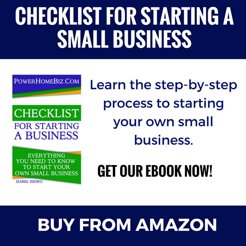 Checklist for Starting a Small Business ebook