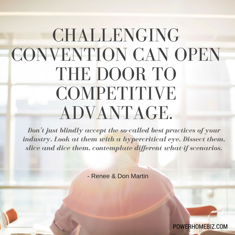 quote on challenging convention