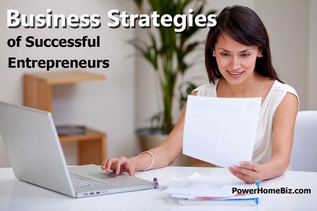 business strategies of successful entrepreneurs