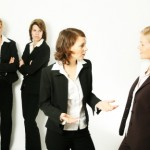 business women trouble