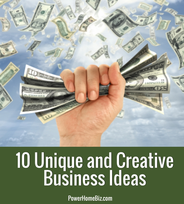 unique and creative business ideas