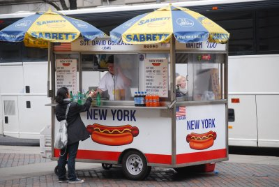 Moving a Hot Dog Cart Business to the Mall