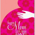 maternity greeting cards