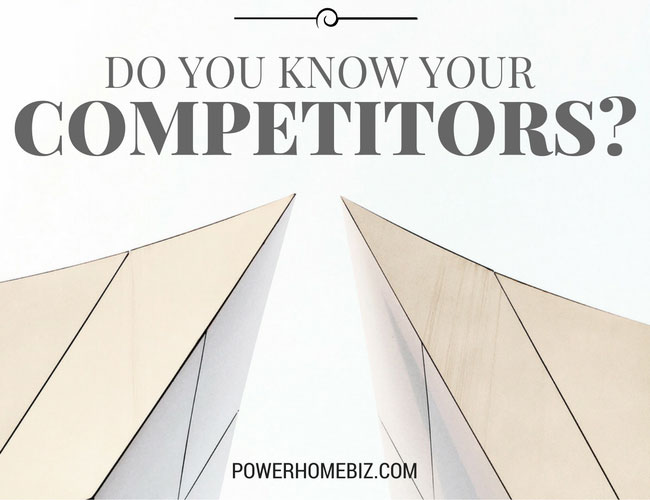 Do You Know Your Competitors?
