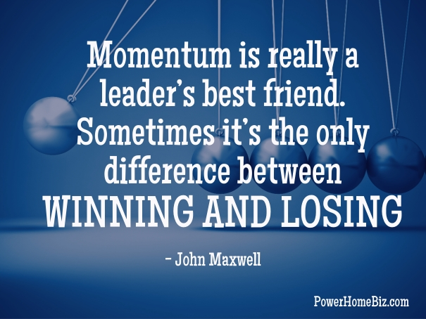 QUOTES on momentum for business