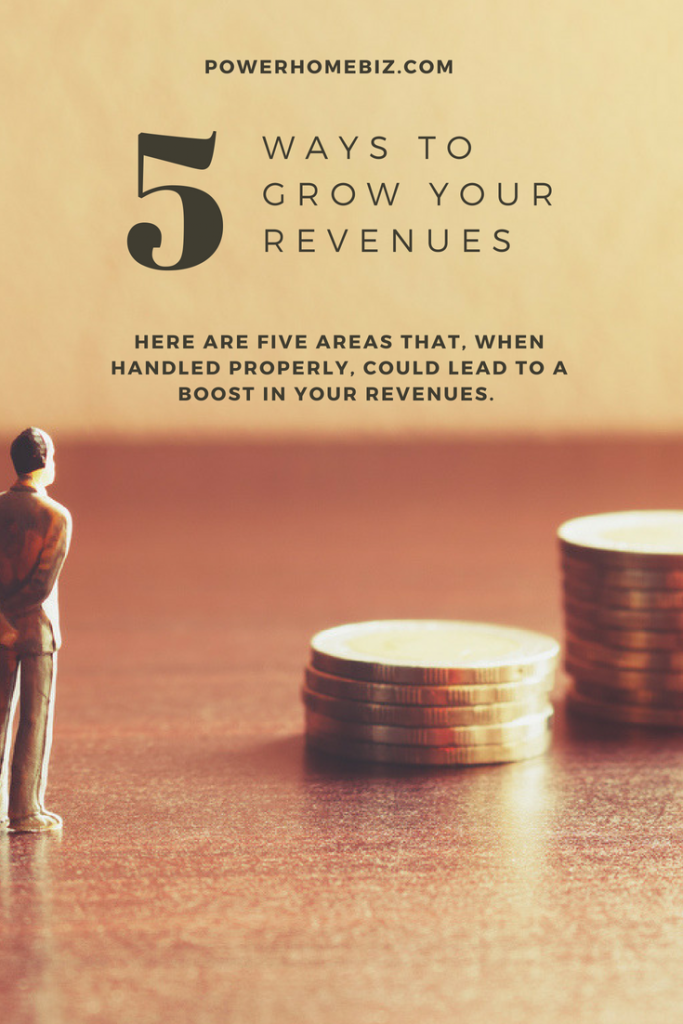 5 Ways to Increase Your Revenues