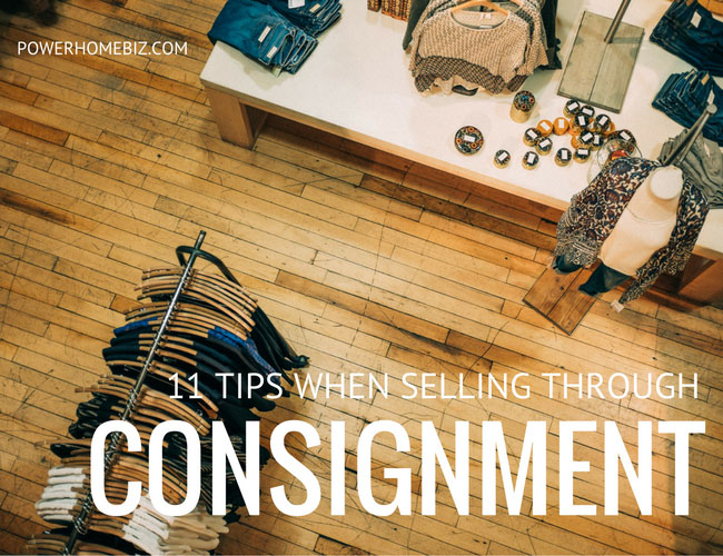 11 Tips when selling on consignment