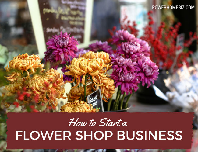 Starting a flower shop business