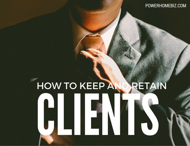 How to keep and retain clients