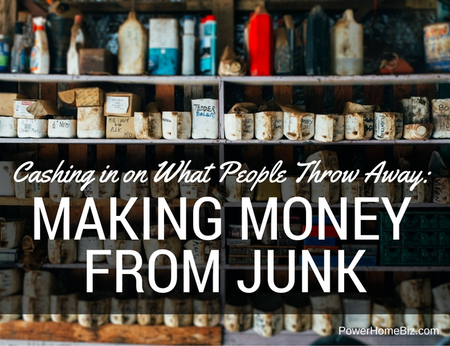 Cashing in on What People Throw Away: Making Money from Junk