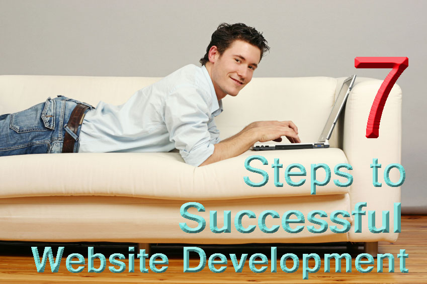 7 steps to website development
