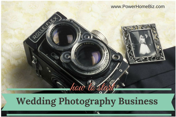 start a wedding photography business
