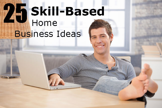 skill-based home business ideas