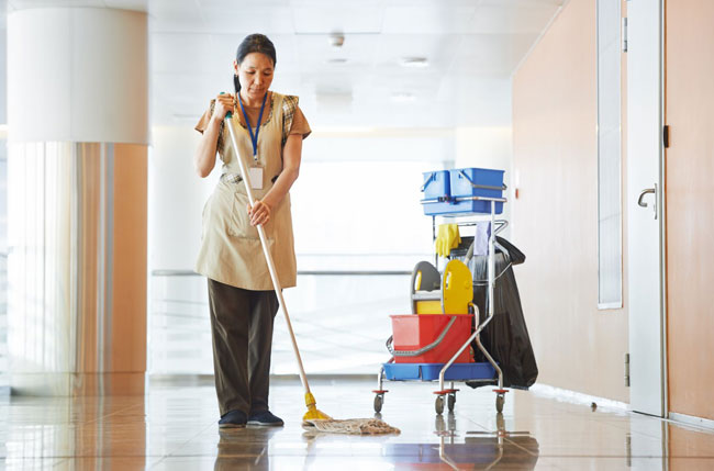 business cleaning