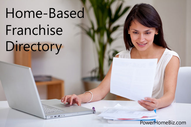 Home-Based Franchise Opportunities Directory