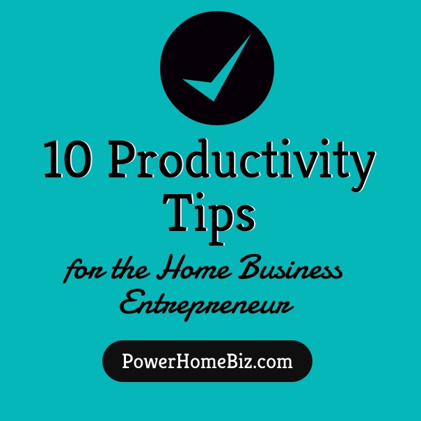 10 productivity tips