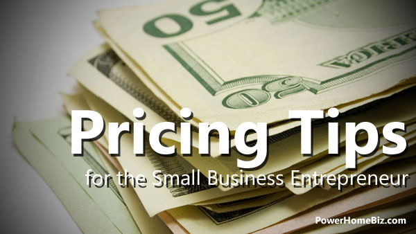 pricing tips for small business entrepreneur