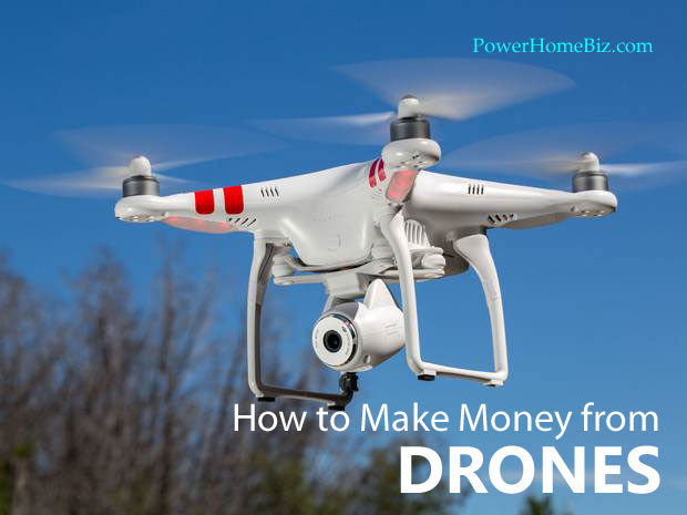 earn money from Drones