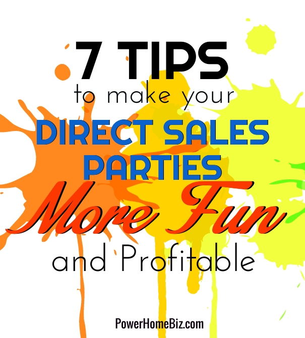 direct sales parties