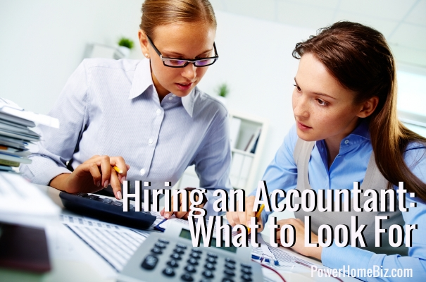 hiring an accountant