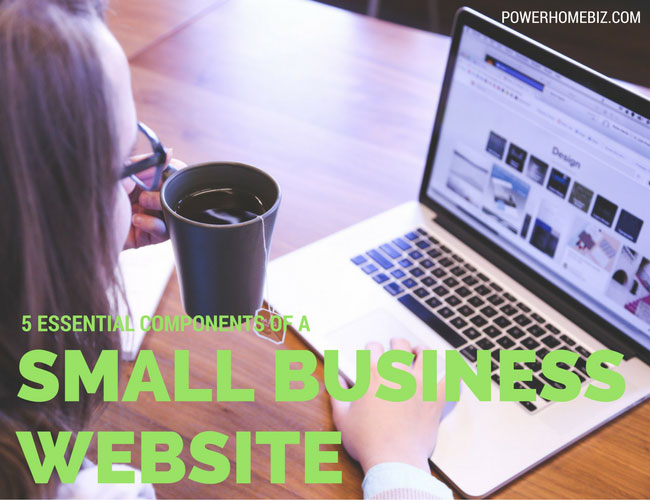 Essential components of a small business website