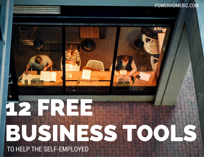 12 free business tools for self employed