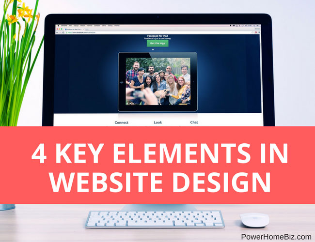 Four Key Elements in Website Design