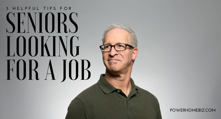 5 Helpful Tips for Seniors Looking for a Job
