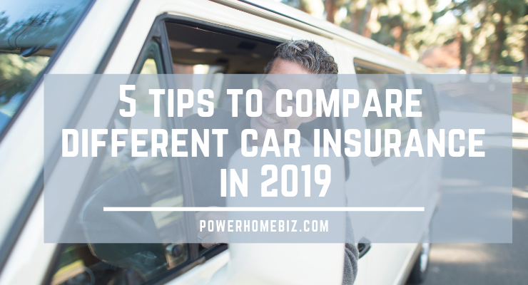 5 tips to compare different car insurance in 2019