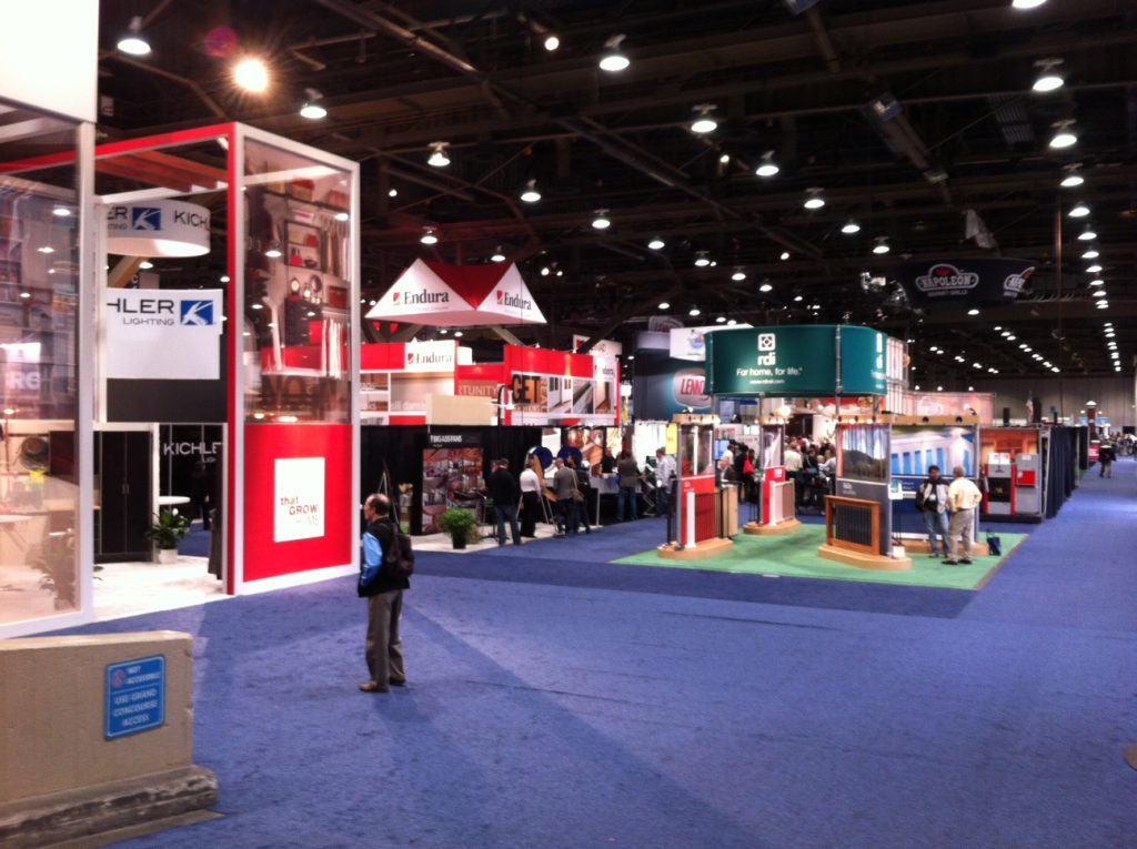 Trade Show Booth Designs to Attract a Large Crowd