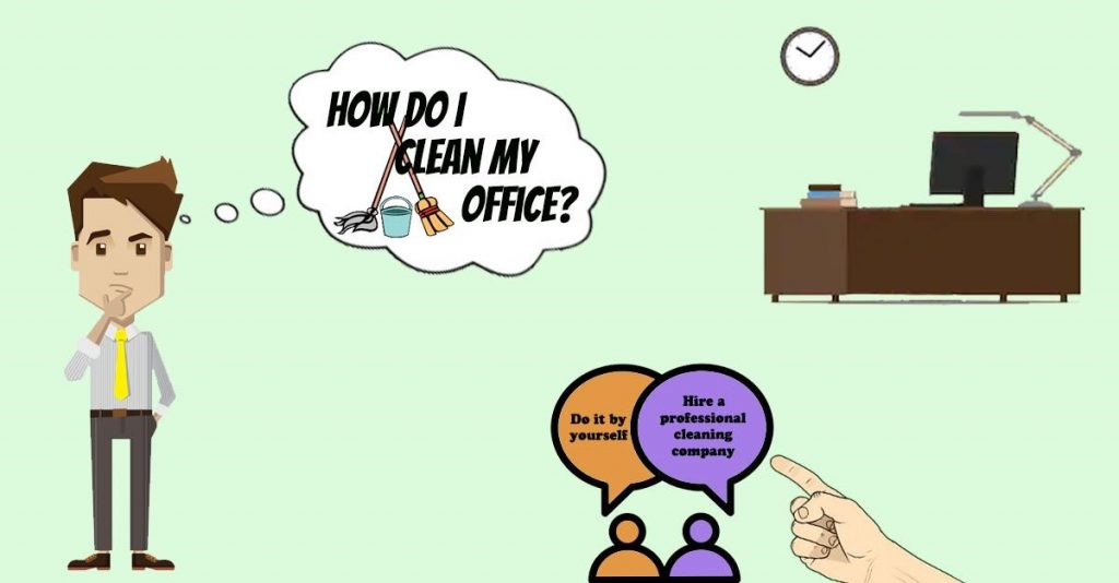 How Do I Clean My Business Office?