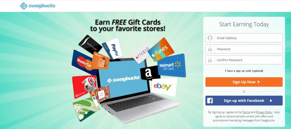 earn money with swagbucks