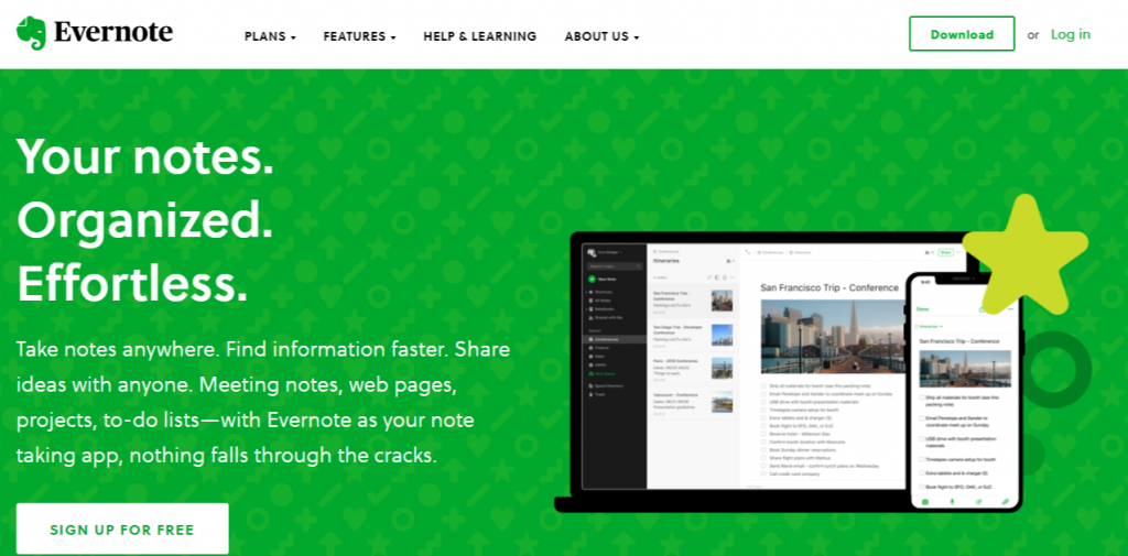 evernote - Productivity Tools for Every Smart Business Bloggers